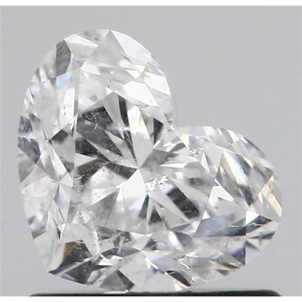0.91 Carat Heart Loose Diamond, D, I1, Ideal, GIA Certified