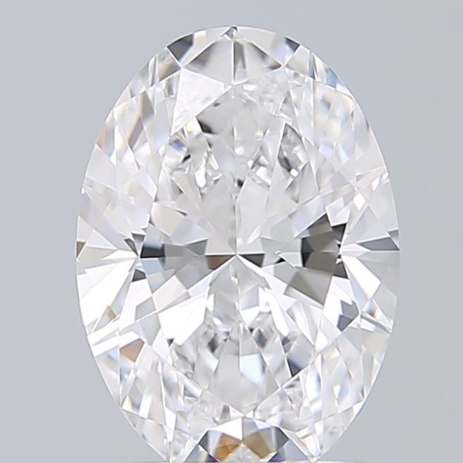 1.70 Carat Oval Loose Diamond, D, VVS1, Super Ideal, GIA Certified