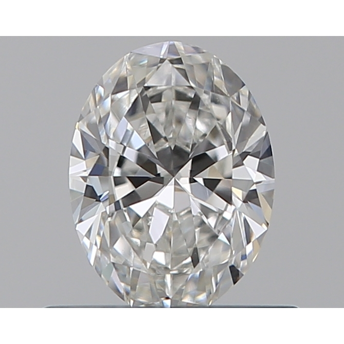 0.43 Carat Oval Loose Diamond, F, VS1, Super Ideal, GIA Certified
