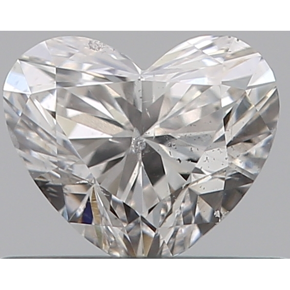 0.40 Carat Heart Loose Diamond, G, SI2, Ideal, GIA Certified