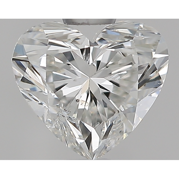 0.70 Carat Heart Loose Diamond, G, SI2, Super Ideal, GIA Certified
