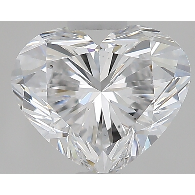 0.86 Carat Heart Loose Diamond, D, VS2, Super Ideal, GIA Certified
