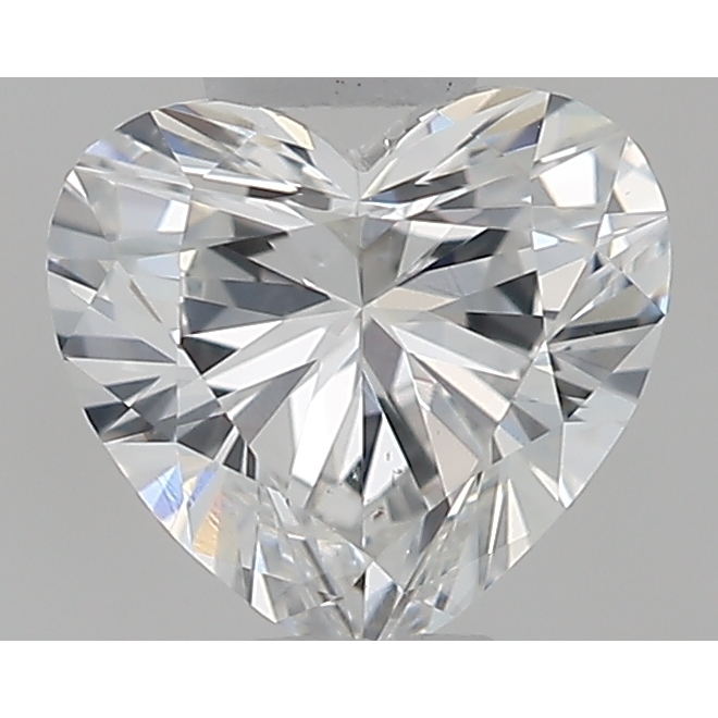 0.32 Carat Heart Loose Diamond, F, VS2, Super Ideal, GIA Certified