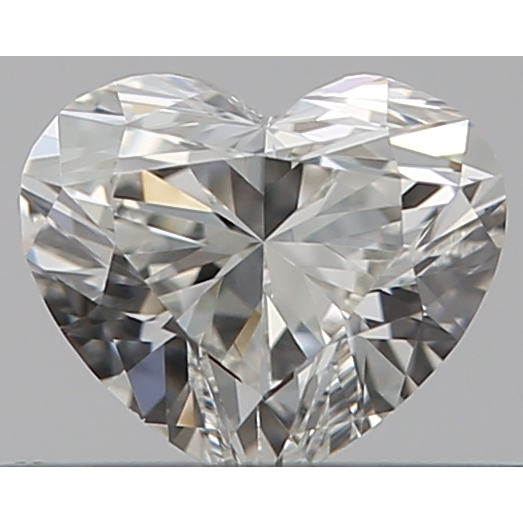 0.30 Carat Heart Loose Diamond, H, VS1, Super Ideal, GIA Certified | Thumbnail