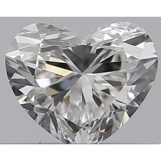 0.35 Carat Heart Loose Diamond, F, VS1, Super Ideal, GIA Certified