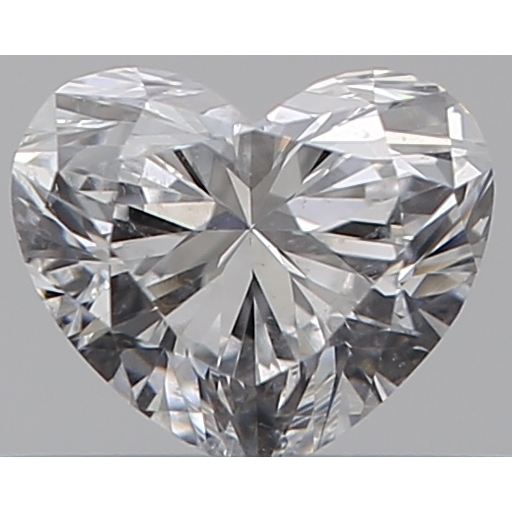 0.30 Carat Heart Loose Diamond, E, SI2, Ideal, GIA Certified