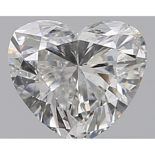0.30 Carat Heart Loose Diamond, G, SI2, Excellent, GIA Certified