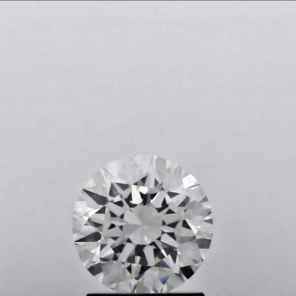0.42 Carat Round Loose Diamond, F, IF, Super Ideal, GIA Certified