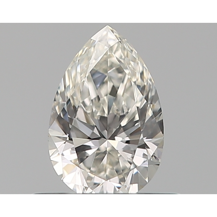 0.40 Carat Pear Loose Diamond, H, VVS2, Super Ideal, GIA Certified