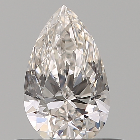 0.41 Carat Pear Loose Diamond, H, VS2, Super Ideal, GIA Certified
