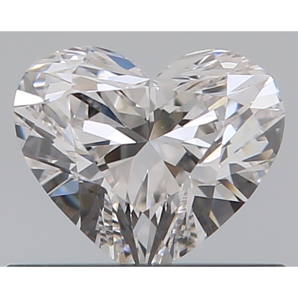 0.40 Carat Heart Loose Diamond, H, IF, Super Ideal, GIA Certified