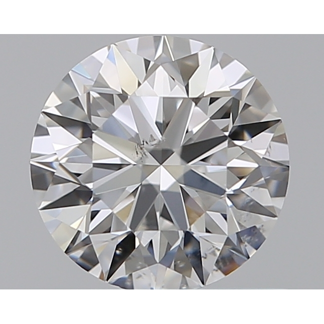 0.65 Carat Round Loose Diamond, E, SI1, Super Ideal, GIA Certified