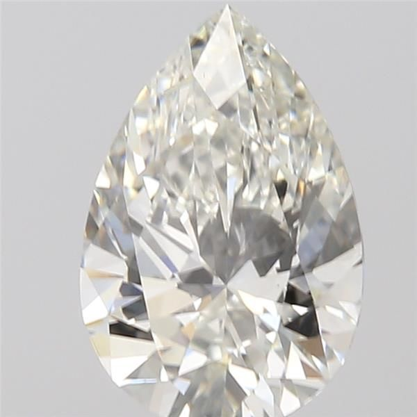 0.50 Carat Pear Loose Diamond, I, SI1, Ideal, GIA Certified