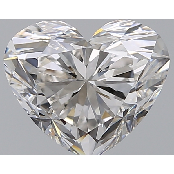 2.06 Carat Heart Loose Diamond, G, VS1, Super Ideal, GIA Certified