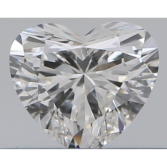 0.31 Carat Heart Loose Diamond, G, VS1, Super Ideal, GIA Certified | Thumbnail