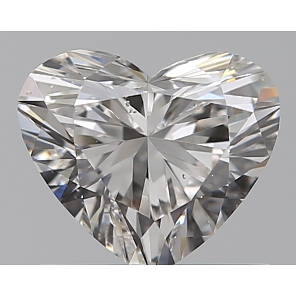 0.55 Carat Heart Loose Diamond, G, SI1, Super Ideal, GIA Certified