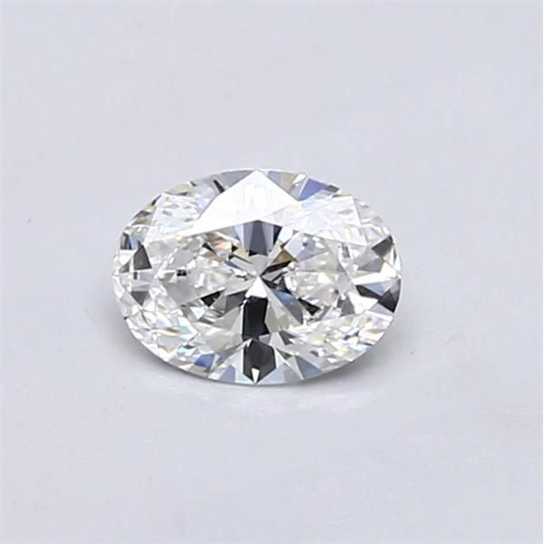 0.41 Carat Oval Loose Diamond, E, VVS2, Super Ideal, GIA Certified