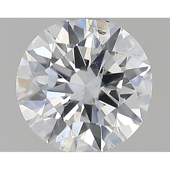 0.54 Carat Round Loose Diamond, E, SI2, Ideal, GIA Certified