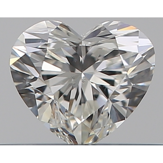 0.30 Carat Heart Loose Diamond, H, SI1, Super Ideal, GIA Certified | Thumbnail