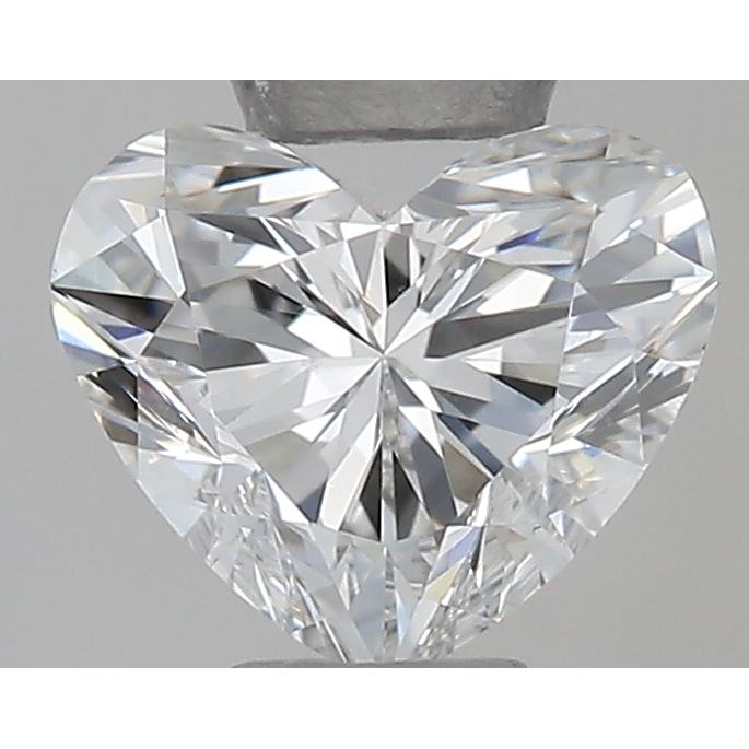 0.31 Carat Heart Loose Diamond, F, VS1, Ideal, GIA Certified | Thumbnail