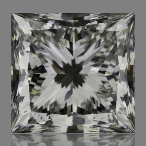 1.61 Carat Princess Loose Diamond, G, VVS2, Super Ideal, GIA Certified