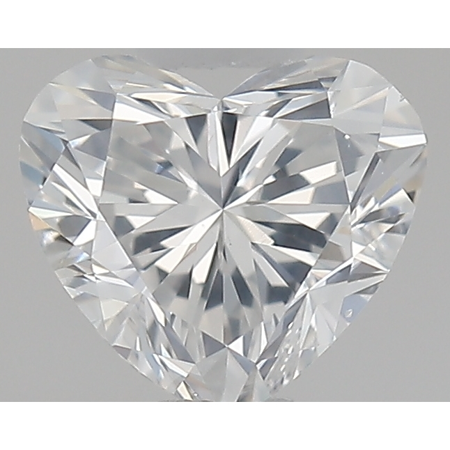 0.50 Carat Heart Loose Diamond, F, SI2, Super Ideal, GIA Certified