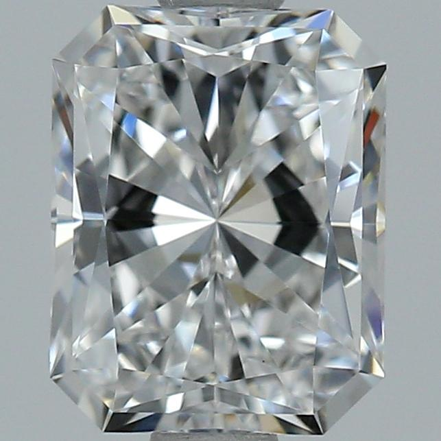 1.00 Carat Radiant Loose Diamond, E, VS1, Super Ideal, GIA Certified