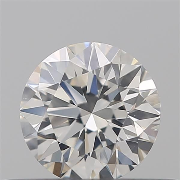 0.30 Carat Round Loose Diamond, G, SI1, Super Ideal, GIA Certified