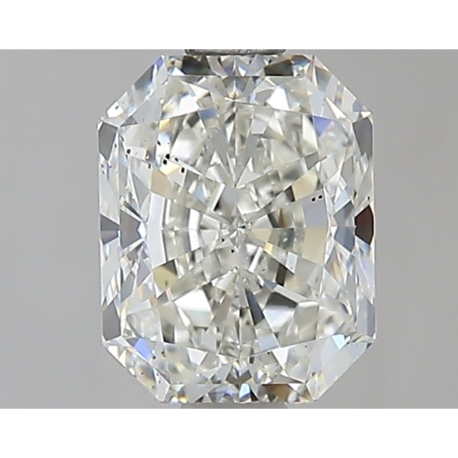 1.29 Carat Radiant Loose Diamond, J, SI1, Super Ideal, GIA Certified | Thumbnail