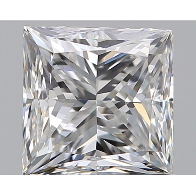 1.00 Carat Princess Loose Diamond, F, VS1, Very Good, GIA Certified