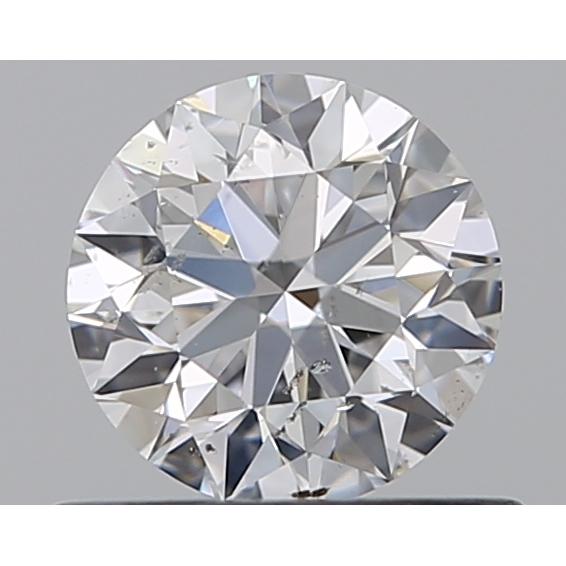 0.50 Carat Round Loose Diamond, E, SI2, Super Ideal, GIA Certified