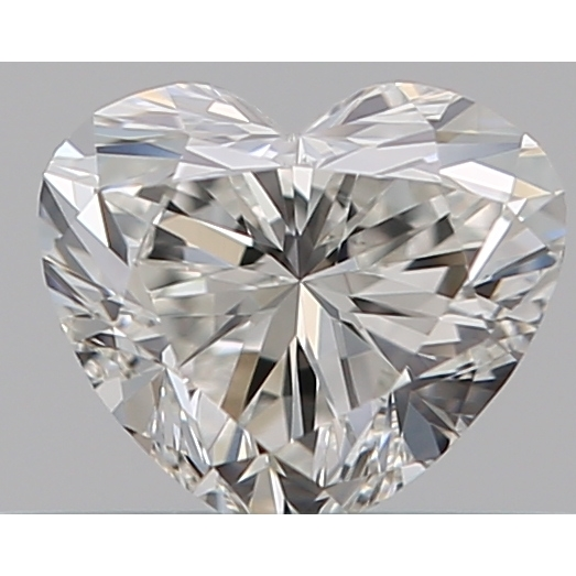 0.30 Carat Heart Loose Diamond, H, VS1, Ideal, GIA Certified