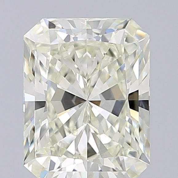 1.50 Carat Radiant Loose Diamond, L, VS1, Ideal, GIA Certified