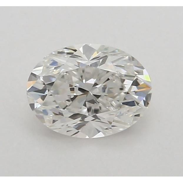 0.50 Carat Oval Loose Diamond, F, VVS1, Excellent, GIA Certified