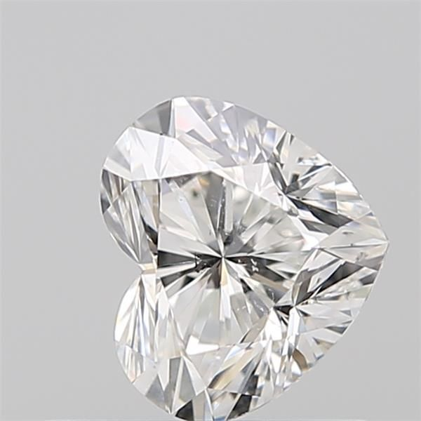 0.50 Carat Heart Loose Diamond, G, SI2, Super Ideal, GIA Certified