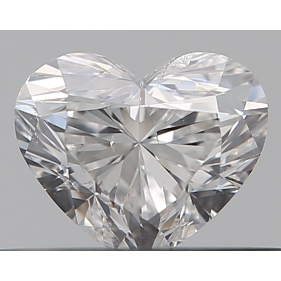 0.30 Carat Heart Loose Diamond, E, SI2, Excellent, GIA Certified
