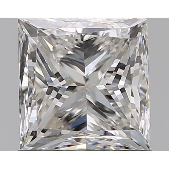 1.00 Carat Princess Loose Diamond, H, VS2, Very Good, GIA Certified