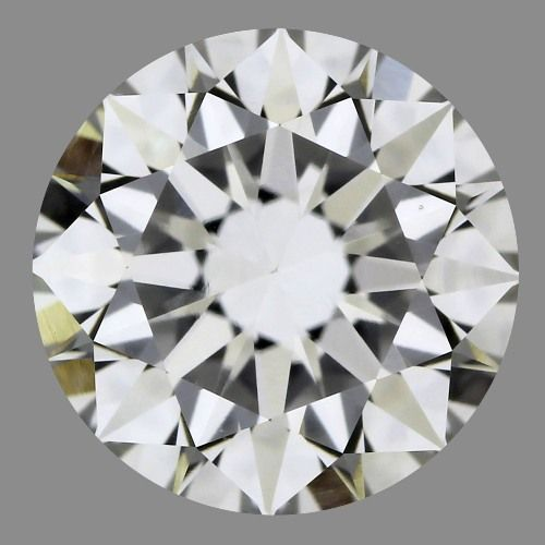 0.82 Carat Round Loose Diamond, F, VS2, Super Ideal, GIA Certified