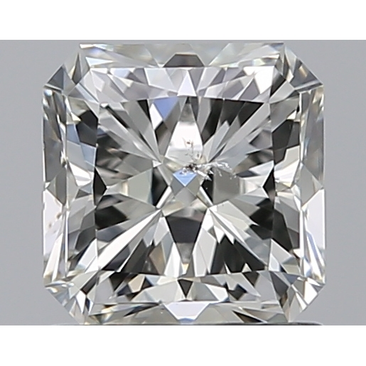 1.01 Carat Radiant Loose Diamond, I, SI2, Super Ideal, GIA Certified