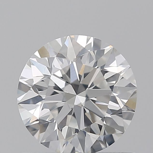 0.62 Carat Round Loose Diamond, F, SI2, Super Ideal, GIA Certified
