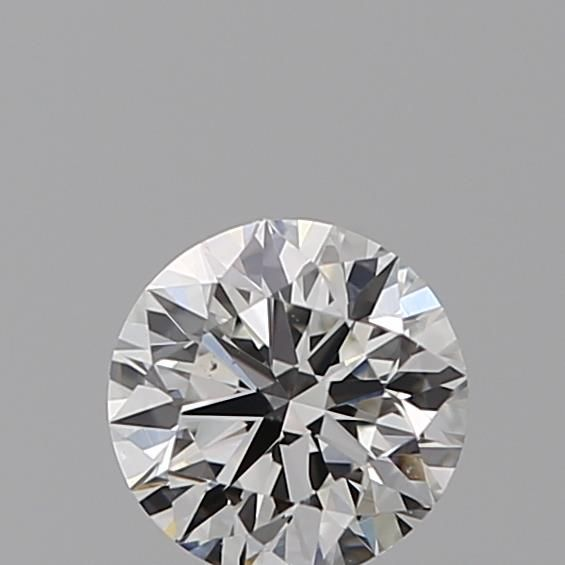 0.40 Carat Round Loose Diamond, F, VVS1, Super Ideal, GIA Certified