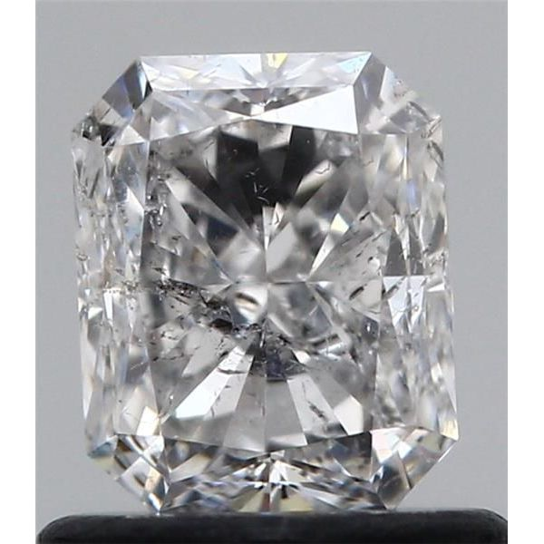 0.96 Carat Radiant Loose Diamond, H, I1, Very Good, GIA Certified | Thumbnail