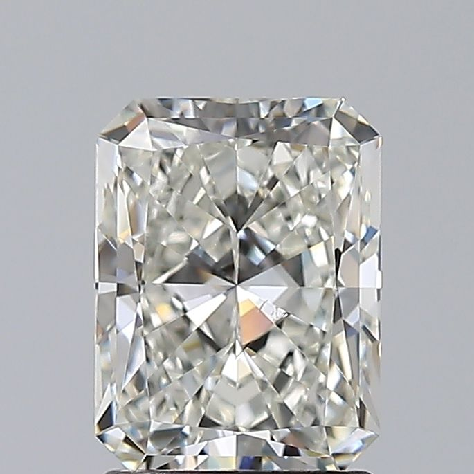 1.53 Carat Radiant Loose Diamond, I, SI1, Super Ideal, GIA Certified