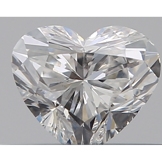 0.30 Carat Heart Loose Diamond, F, VS2, Ideal, GIA Certified