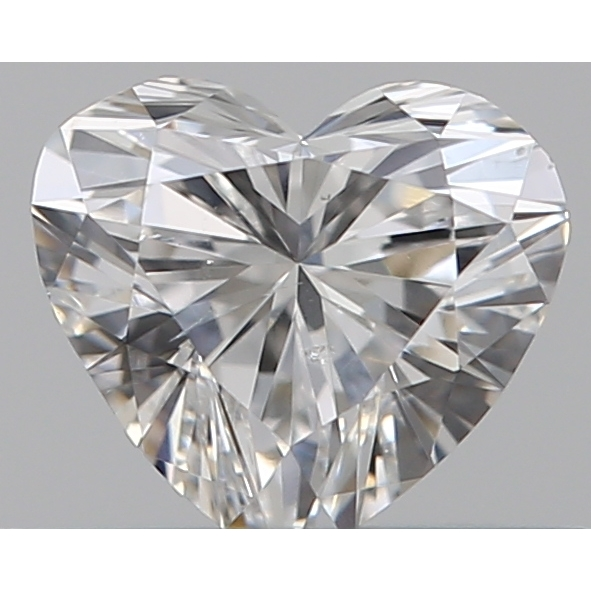 0.30 Carat Heart Loose Diamond, F, SI1, Super Ideal, GIA Certified