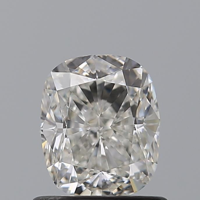 1.00 Carat Cushion Loose Diamond, H, VVS2, Excellent, GIA Certified