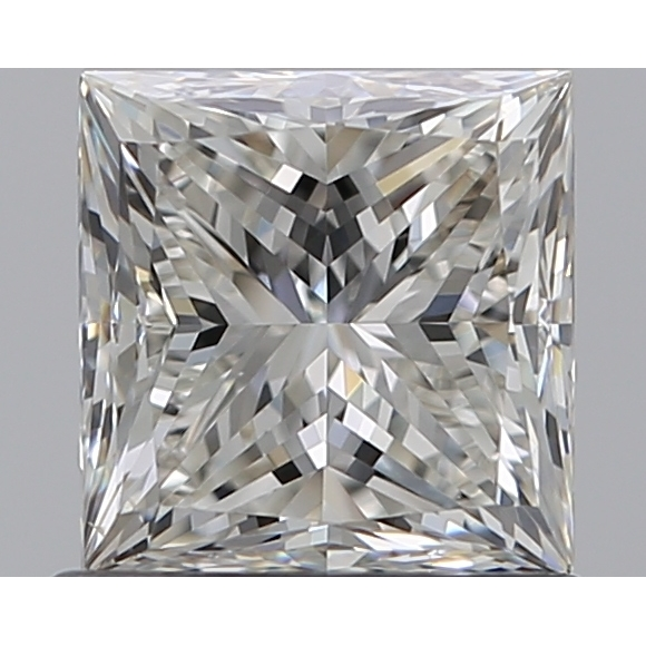 0.90 Carat Princess Loose Diamond, I, VS2, Ideal, GIA Certified | Thumbnail