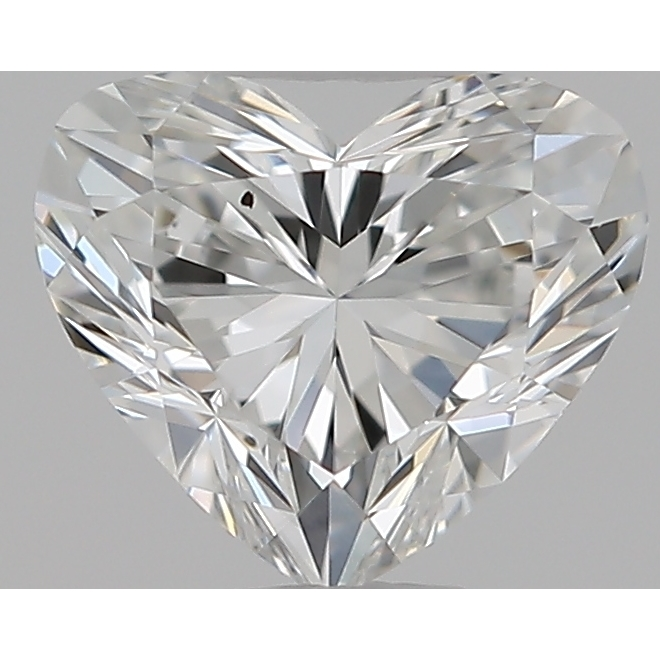0.34 Carat Heart Loose Diamond, F, VS2, Super Ideal, GIA Certified | Thumbnail