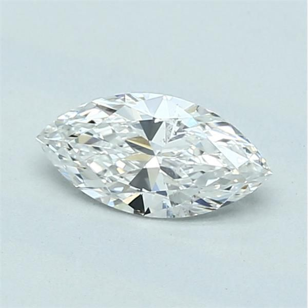 0.50 Carat Marquise Loose Diamond, F, SI2, Super Ideal, GIA Certified