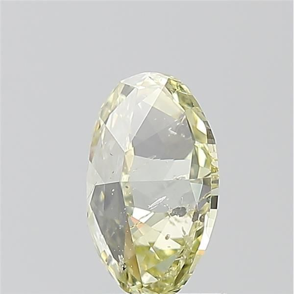 1.00 Carat Oval Loose Diamond, Fancy Yellow, I1, Ideal, GIA Certified